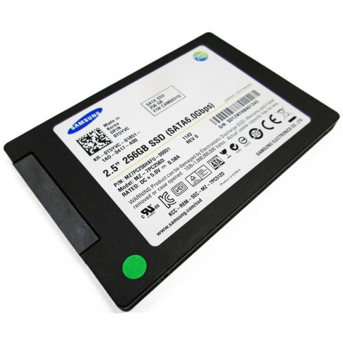 Samsung® SSD 256GB, 2.5in SATA 6Gb/s